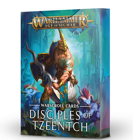Games Workshop Warscrolls:  Disciples  Of Tzeentch (English)