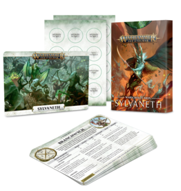 Games Workshop WARSCROLL  CARDS: SYLVANETH  (ENGLISH
