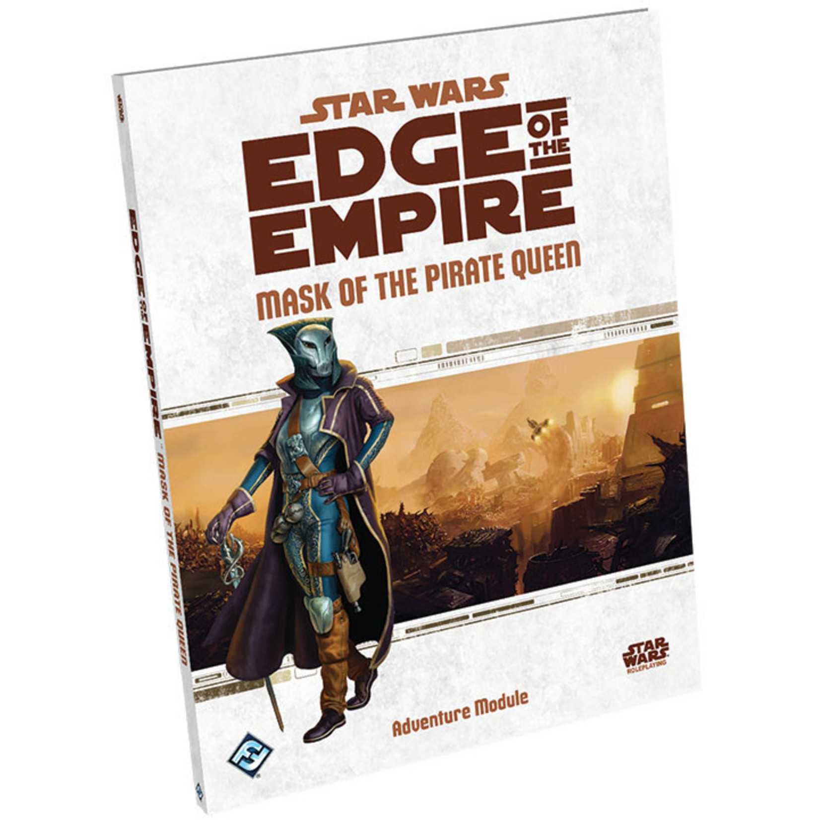 Fantasy Flight Games Star Wars RPG: Edge of the Empire - Mask of the Pirate Queen Adventure Hardcover