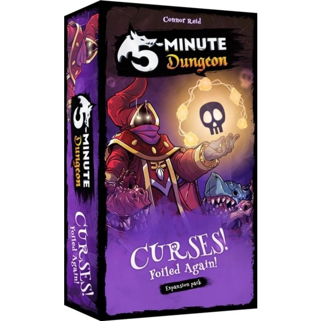 5 Minute Dungeon: Curses Foiled Again Game Expansion Pack