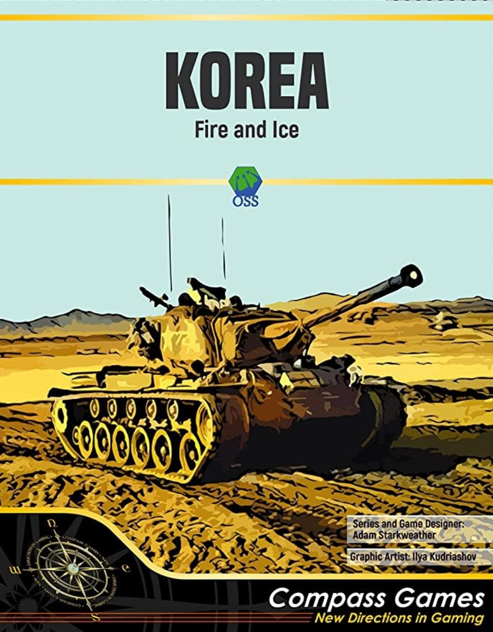 Compass Games Korea: Fire and Ice