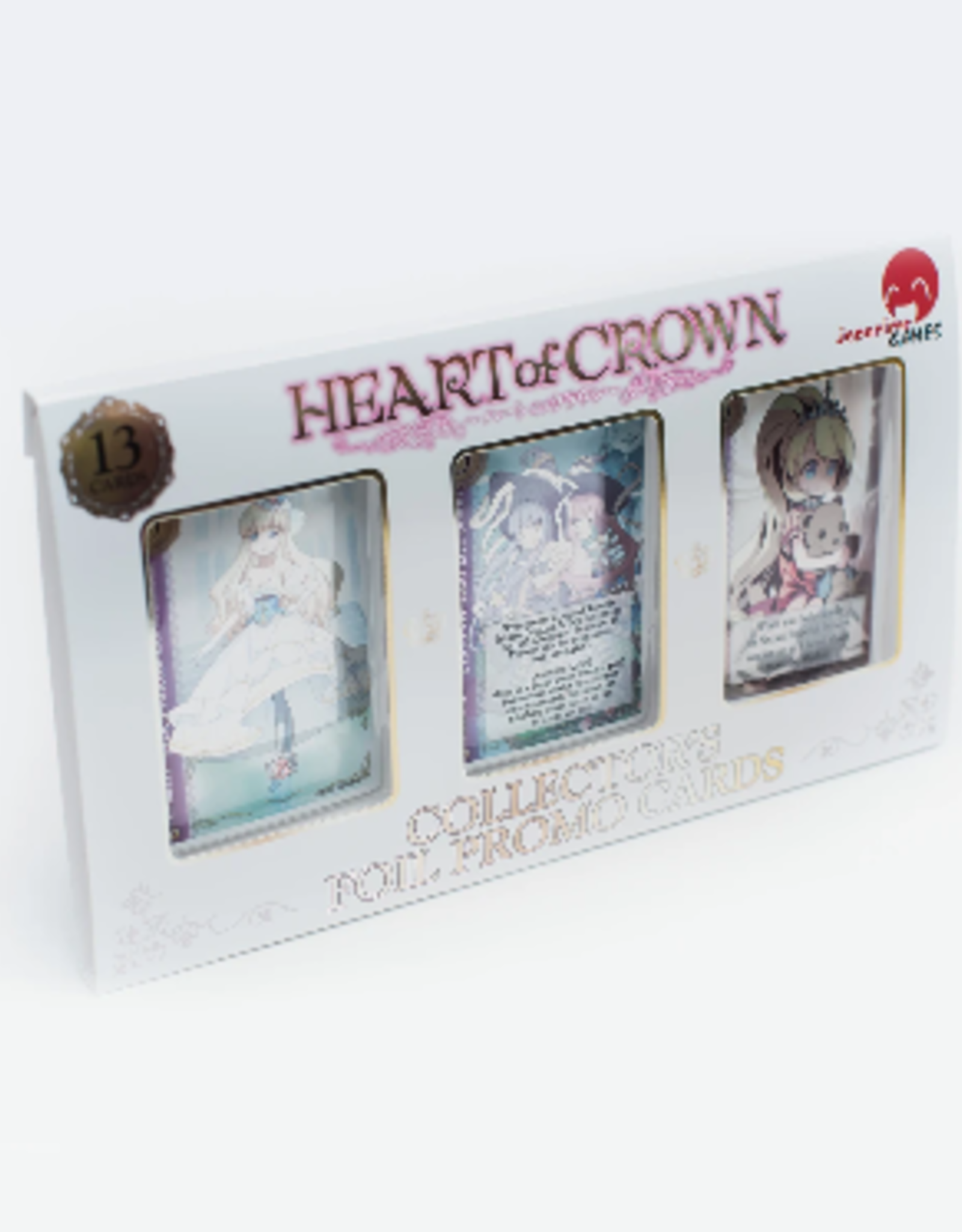 Japanime Games Heart of Crown Collector's Foil Promo Cards