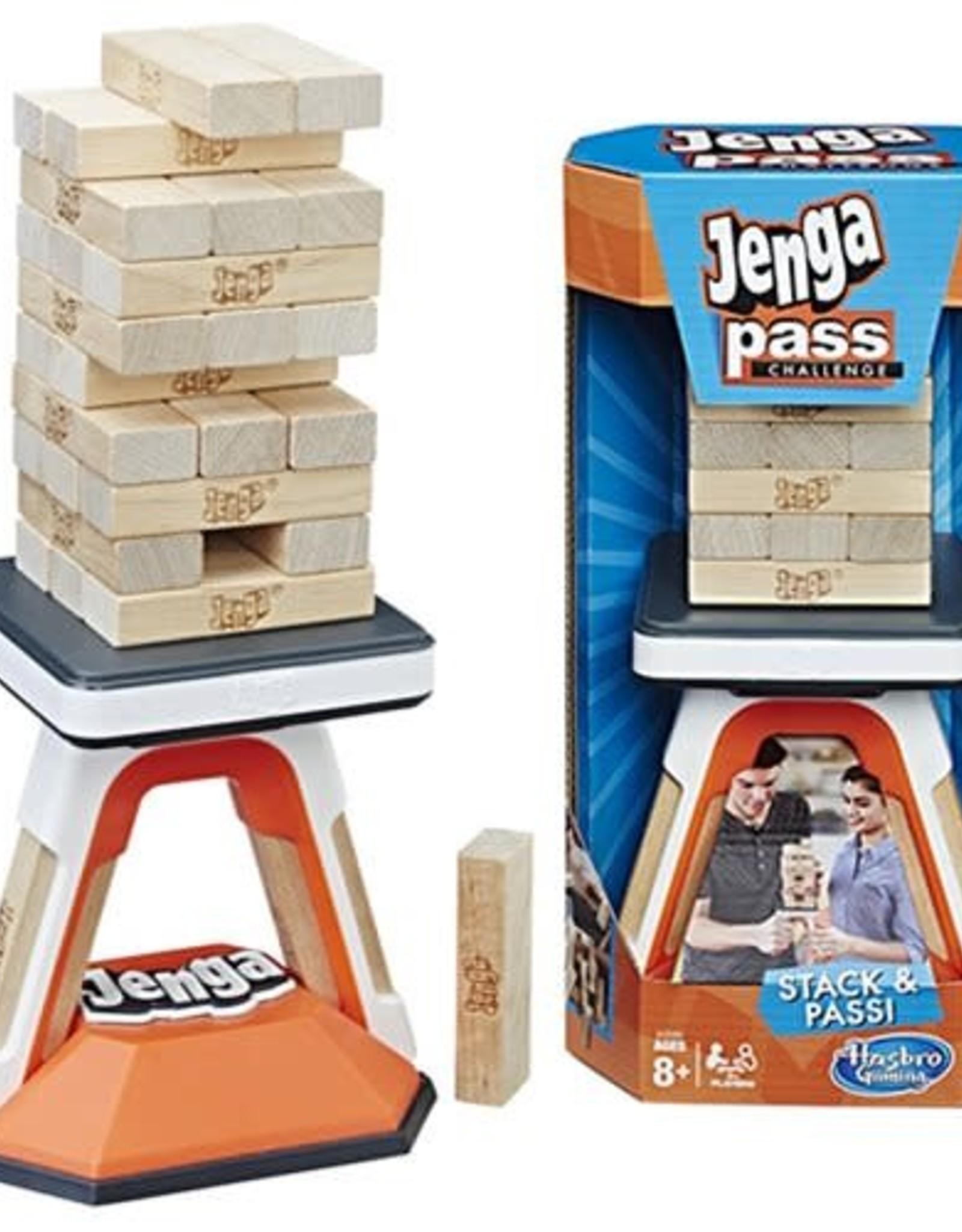 Hasbro Jenga Pass Challenge Game