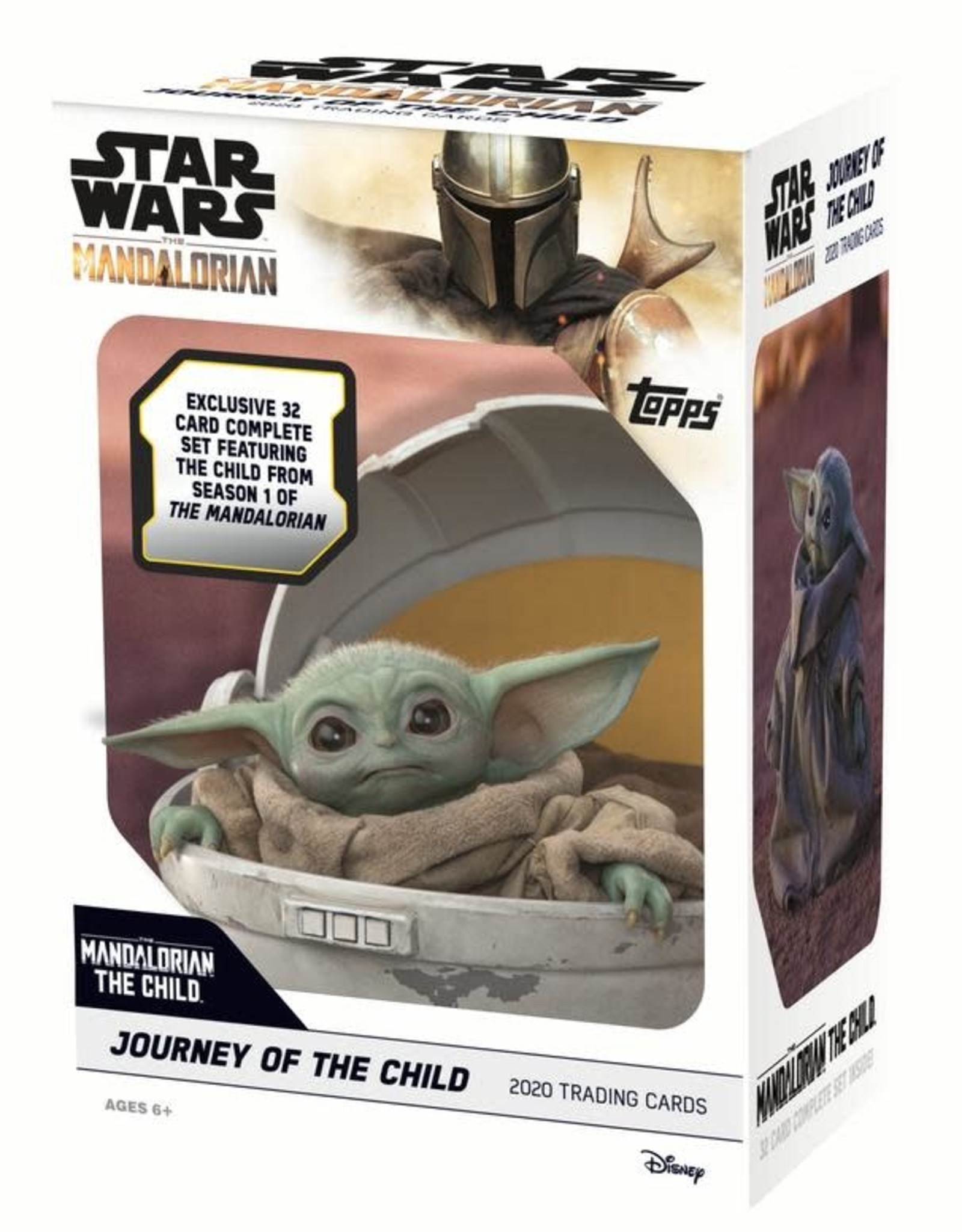 Topps 2020 Topps The Mandalorian: Journey of The Child Trading Card Box