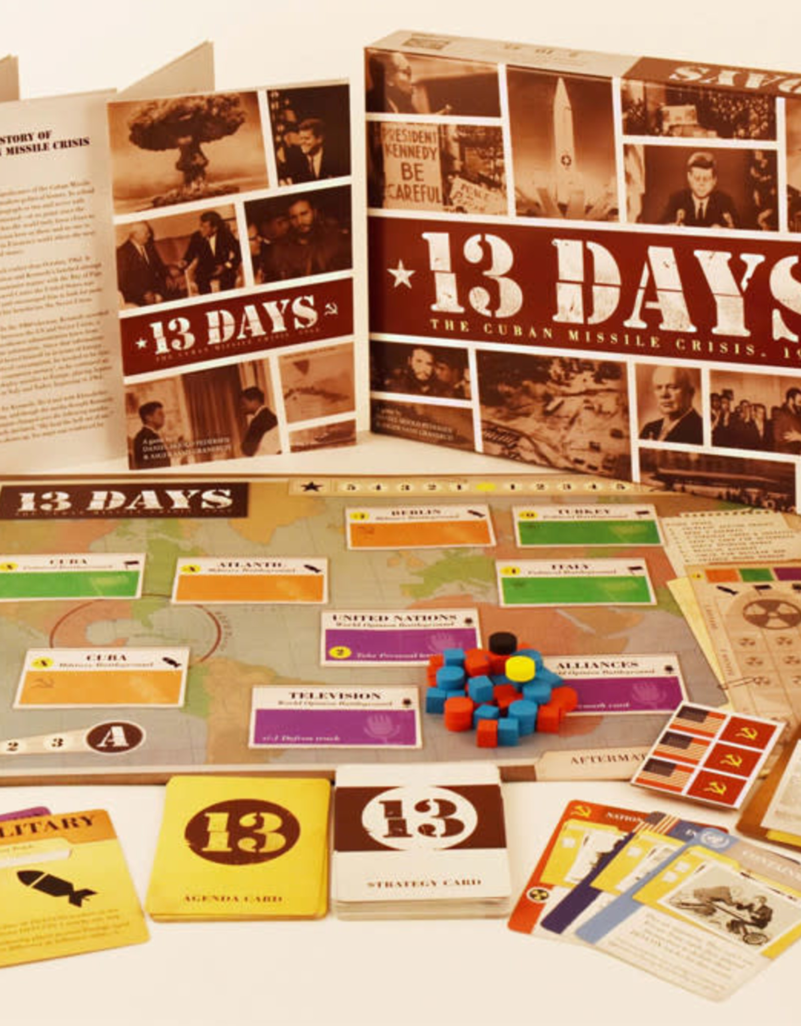 Jolly Roger Games 13 Days Board Game
