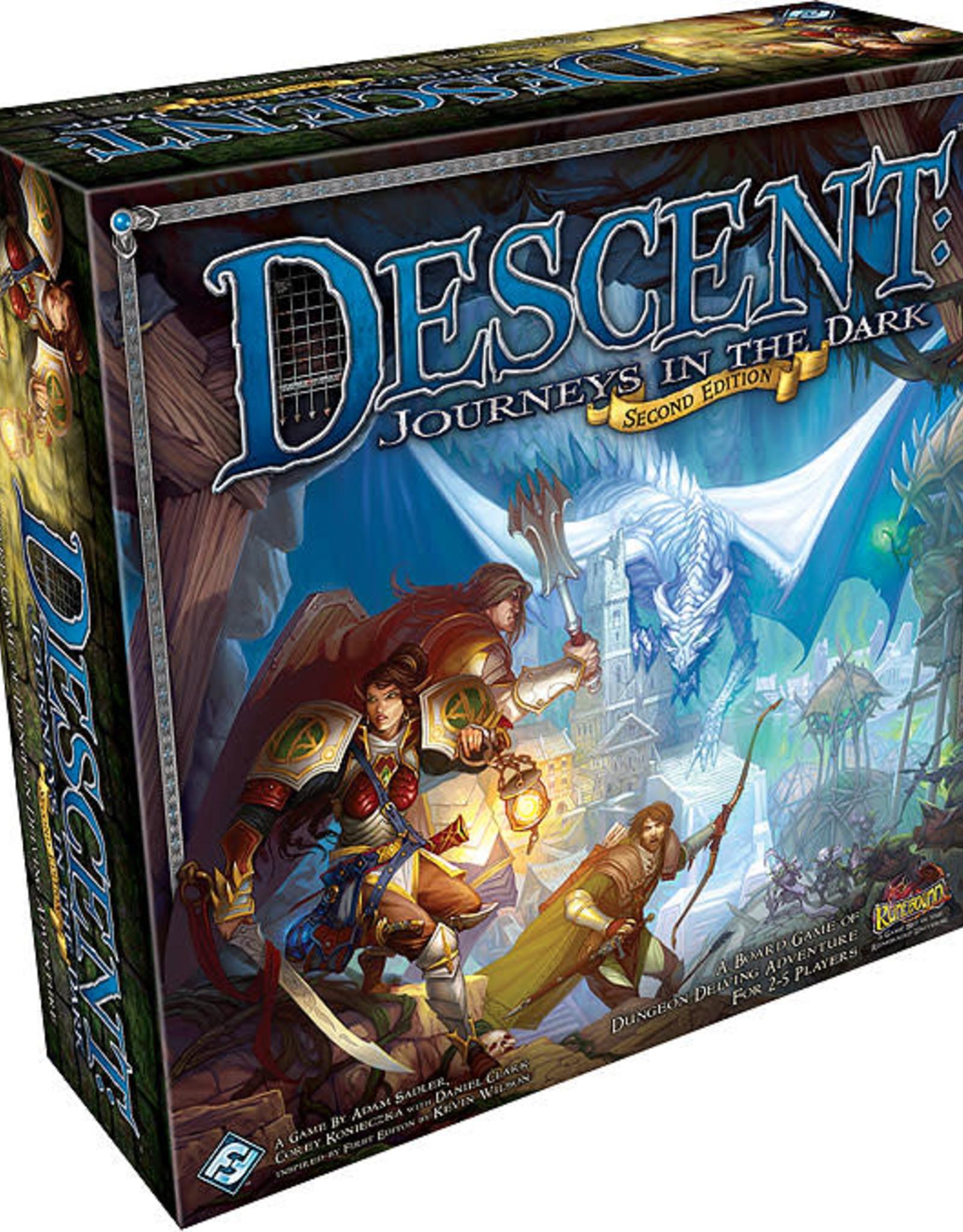 Fantasy Flight Games Descent Journeys in the Dark 2nd Edition