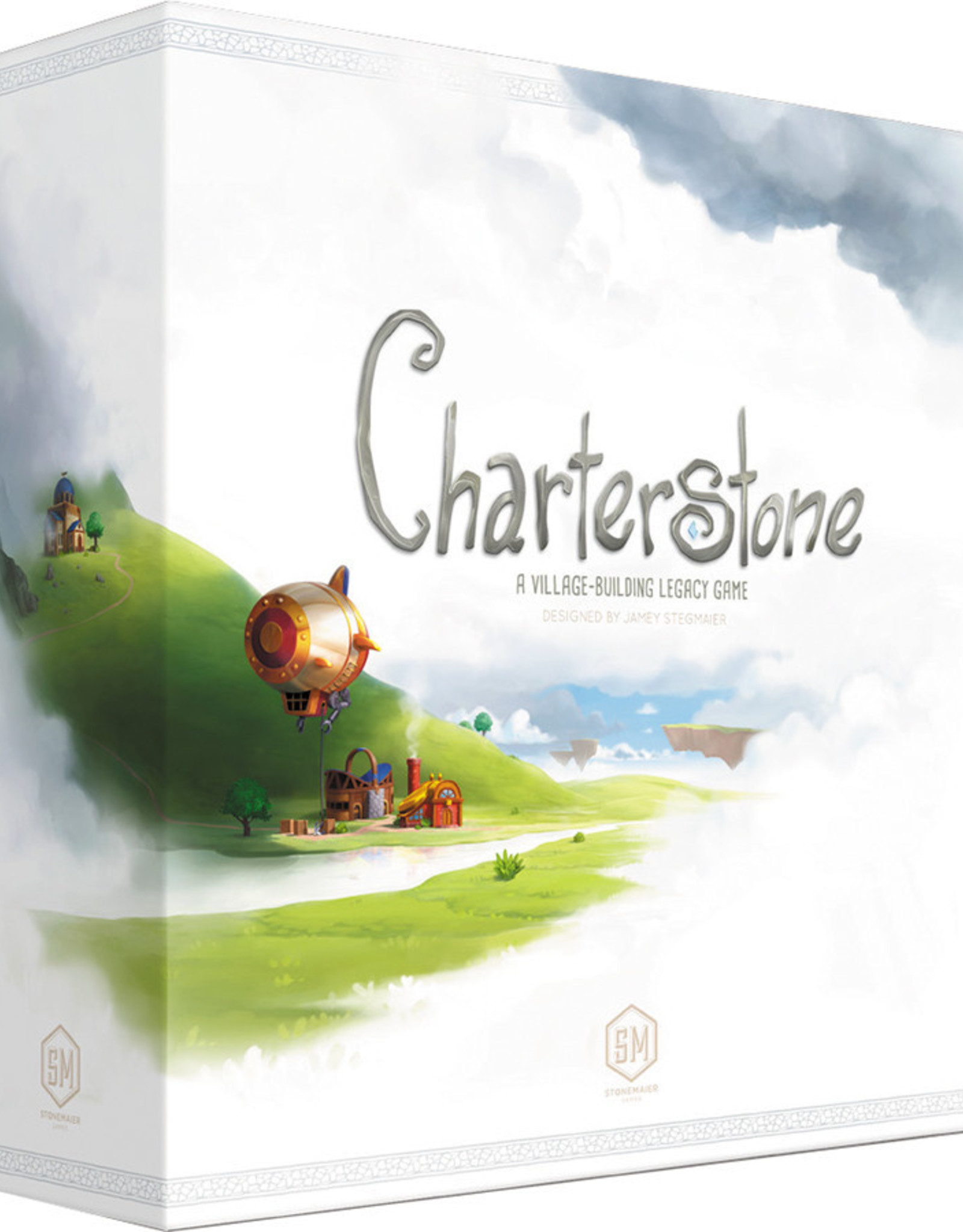Stonemaier Games Charterstone: A Village-Building Legacy Game