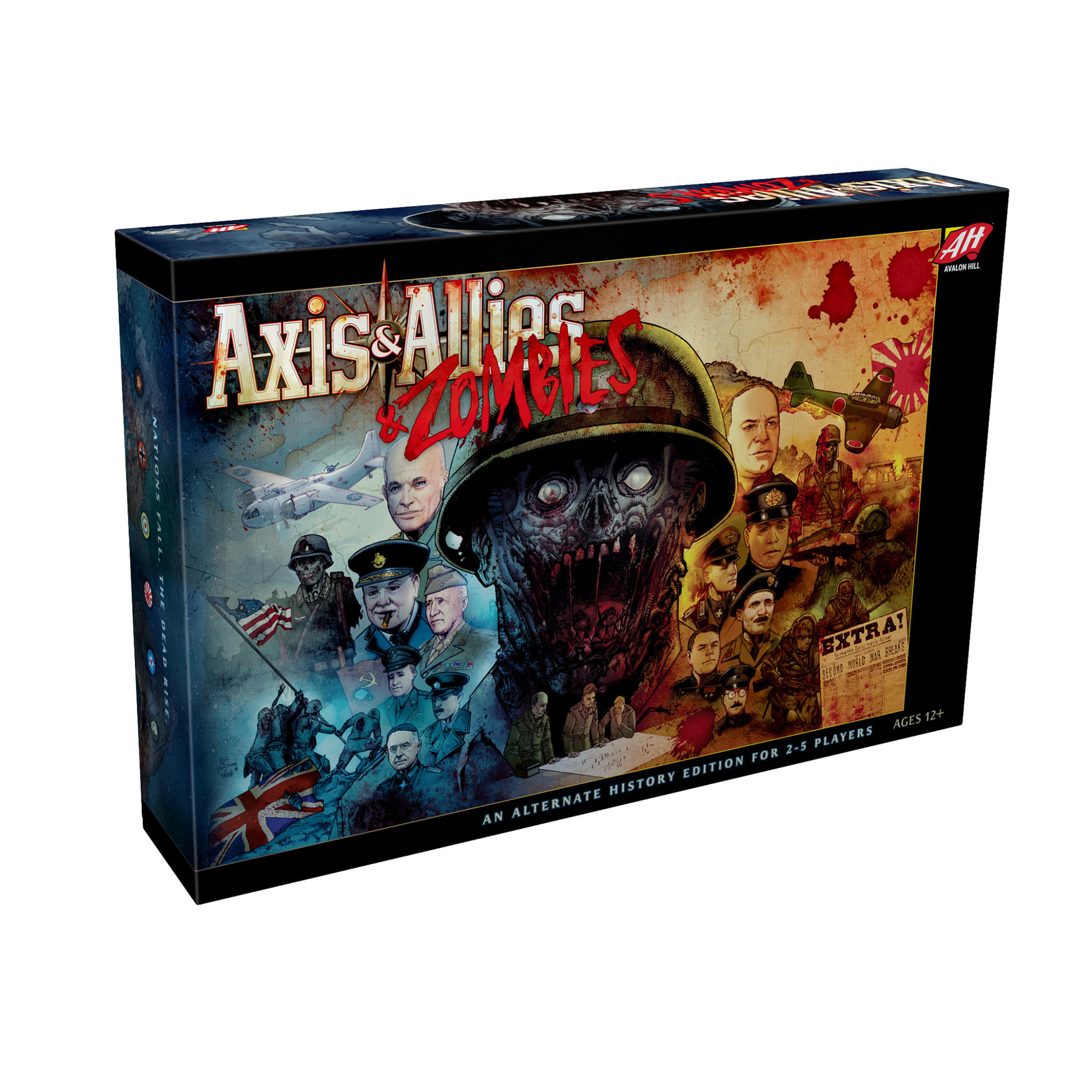 Wizards of the Coast Axis & Allies & Zombies