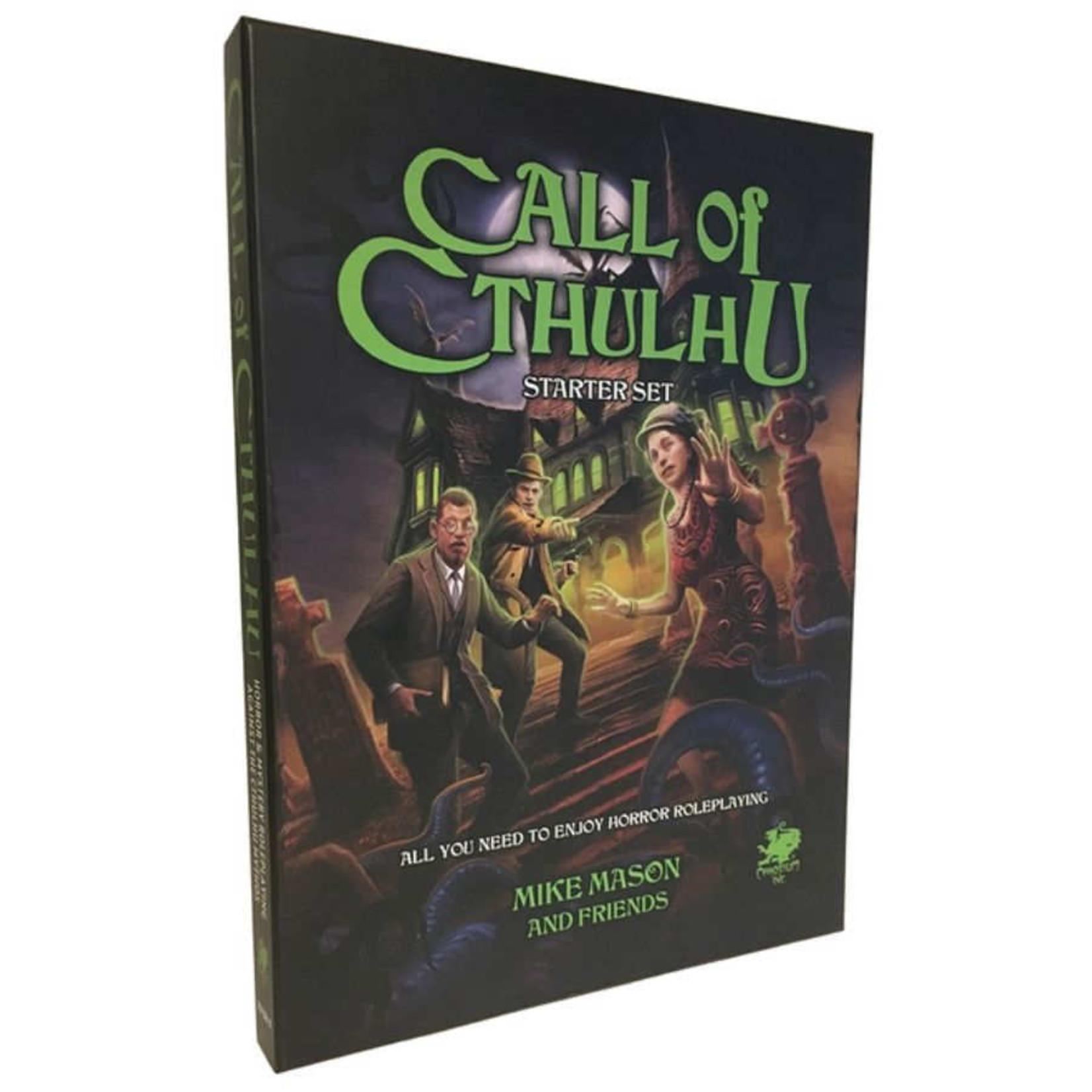 Chaosium Inc. Call Of Cthulhu: 7th Edition - Starter Set