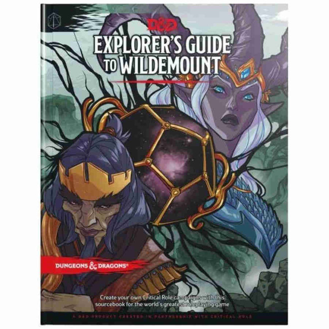 Dungeons & Dragons: 5th Edition - Explorers Guide to Wildemount