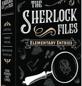 Indie Boards & Cards Sherlock Files Elementary Entries