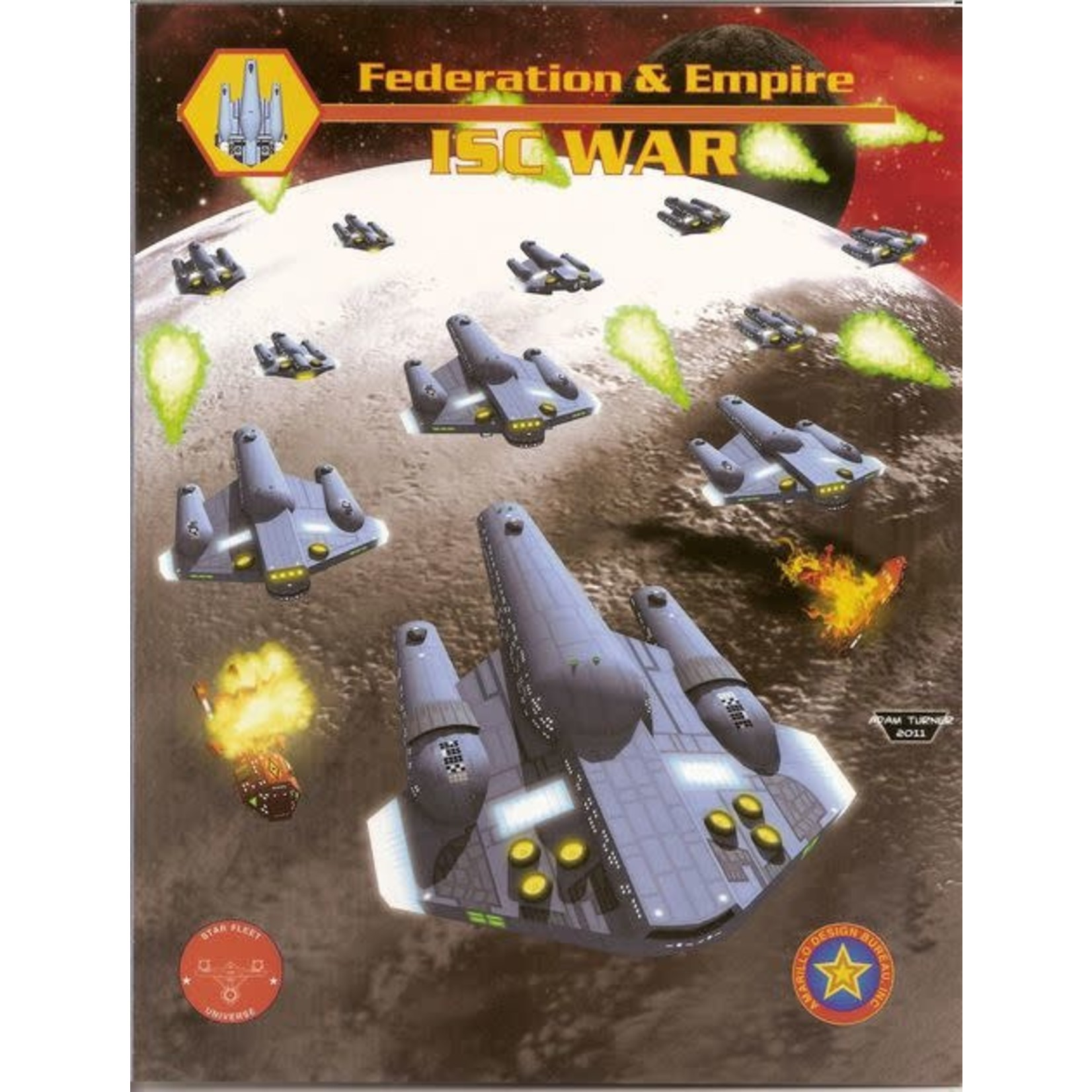 Amarillo Design Bureau Inc Federation and Empire: ISC War