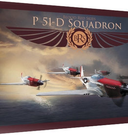 Warlord Games Blood Red Skies: US P-51 Mustang - 6 planes