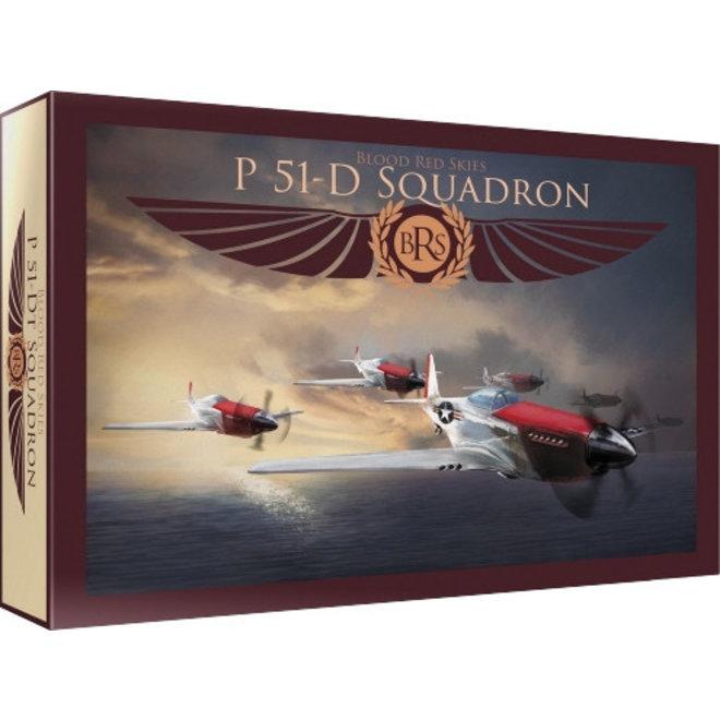 Blood Red Skies: US P-51 Mustang - 6 planes