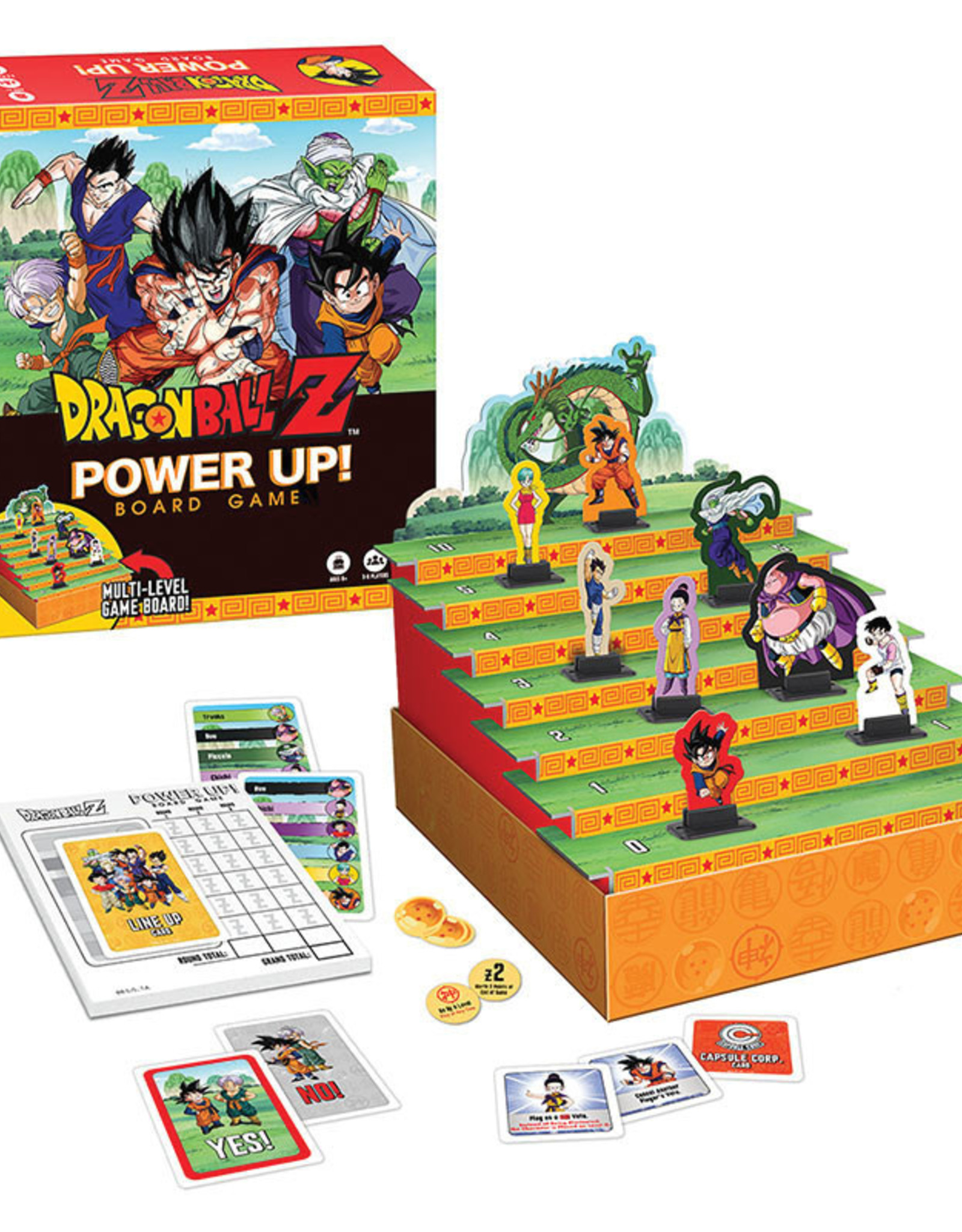 The Op Dragon Ball Z Power Up Board Game