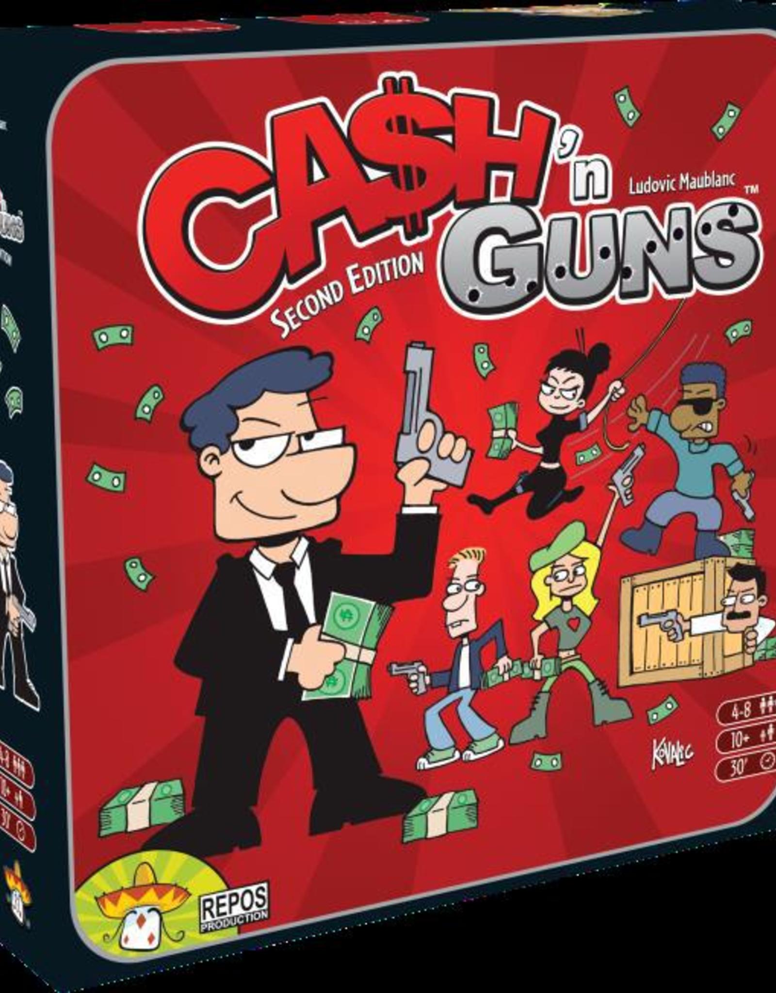 Asmodee USA Cash n Guns (2nd Edition)