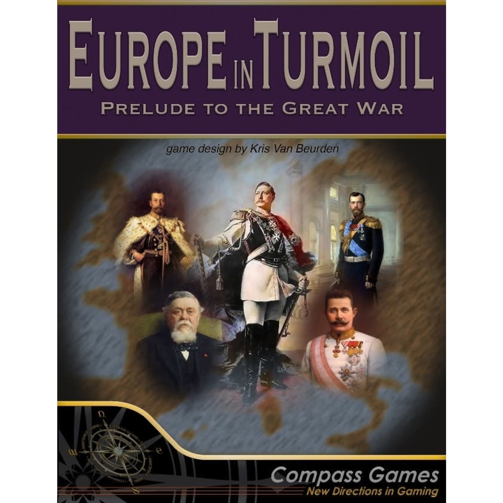 Compass Games Europe in Turmoil: Prelude to the Great War