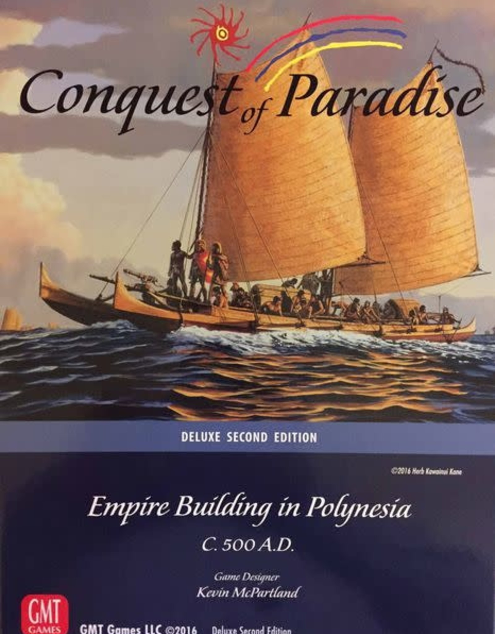 GMT Games Conquest of Paradise - 2nd Ed.
