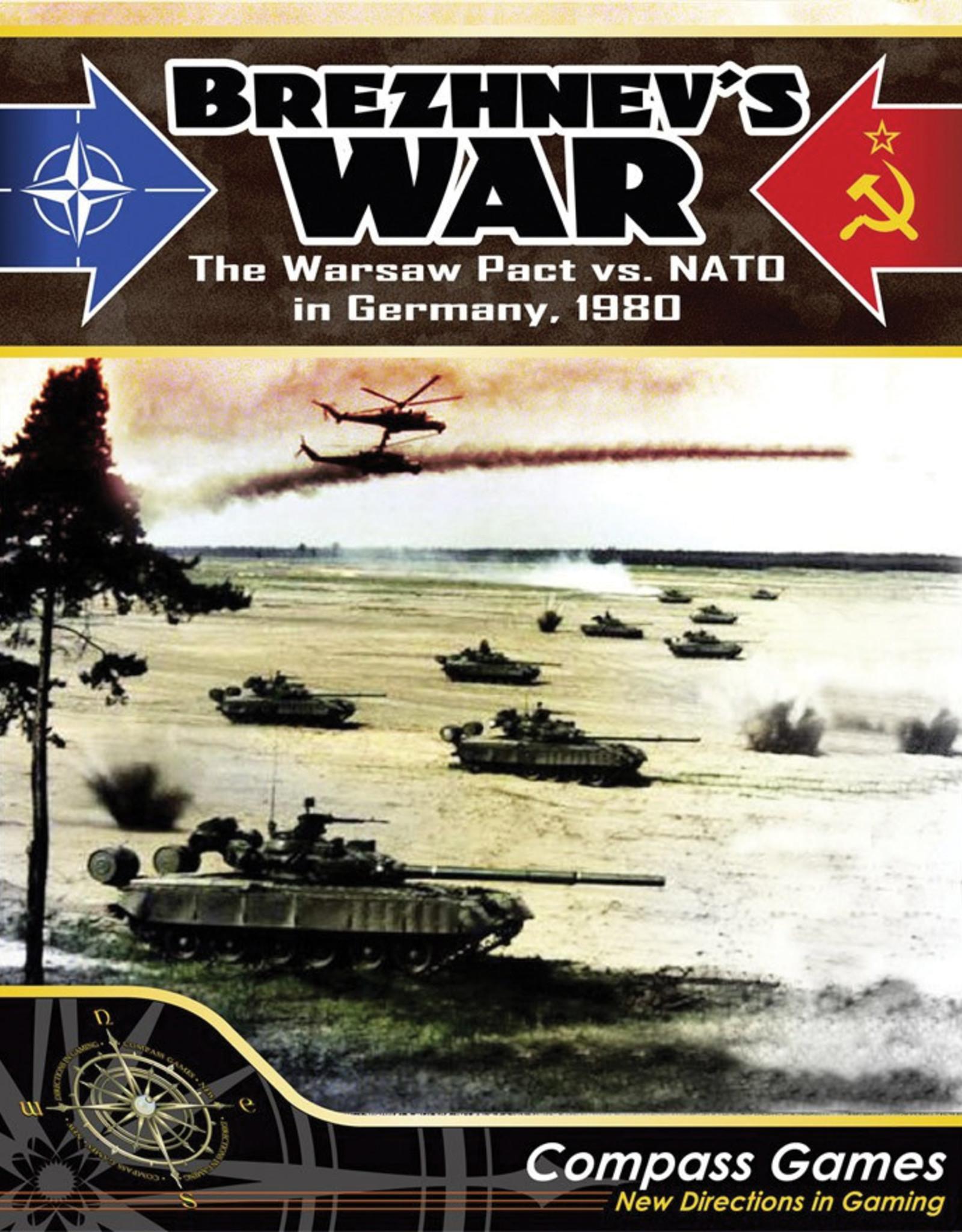 Compass Games Brezhnevs War: NATO vs The Warsaw Pact in Germany 1980