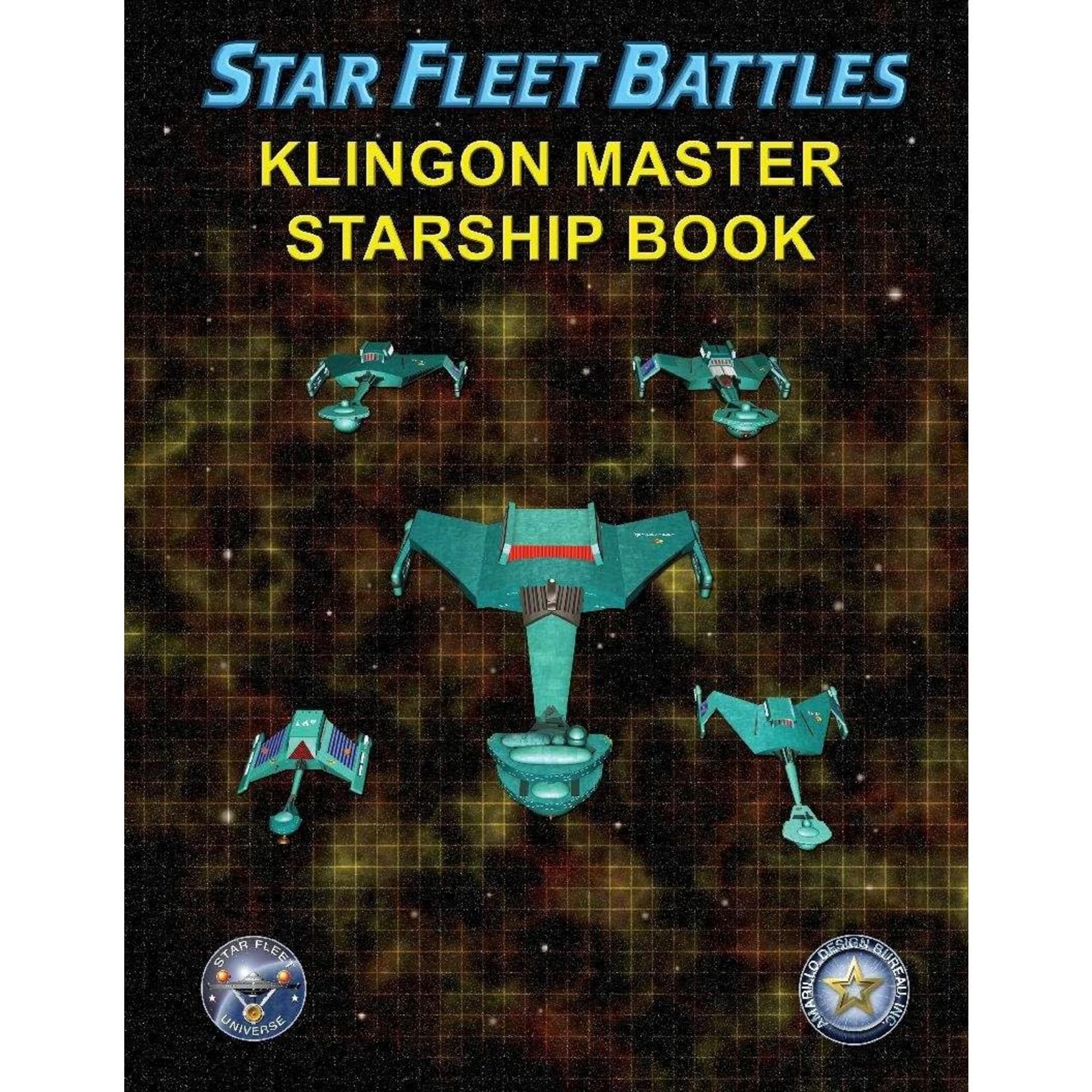 Amarillo Design Bureau Inc Klingon Master Starship Book
