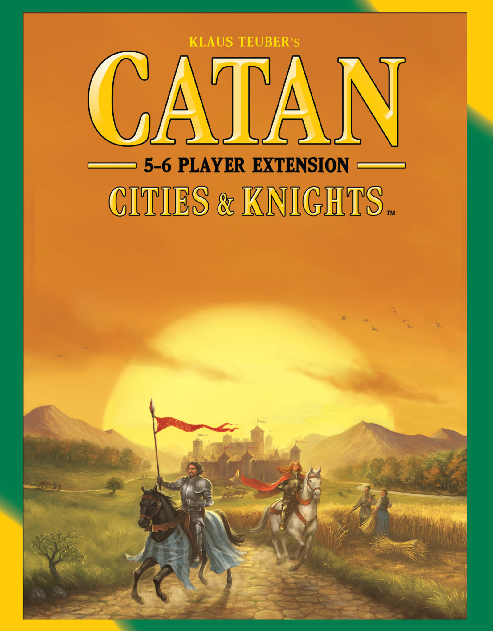 Catan Studios Inc Catan: Cities and Knights 5-6 Player Extension