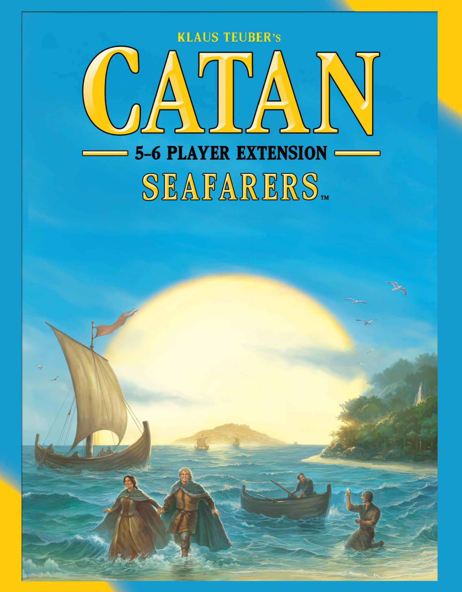 Catan Studios Inc Catan: Seafarers 5-6 Player Extension