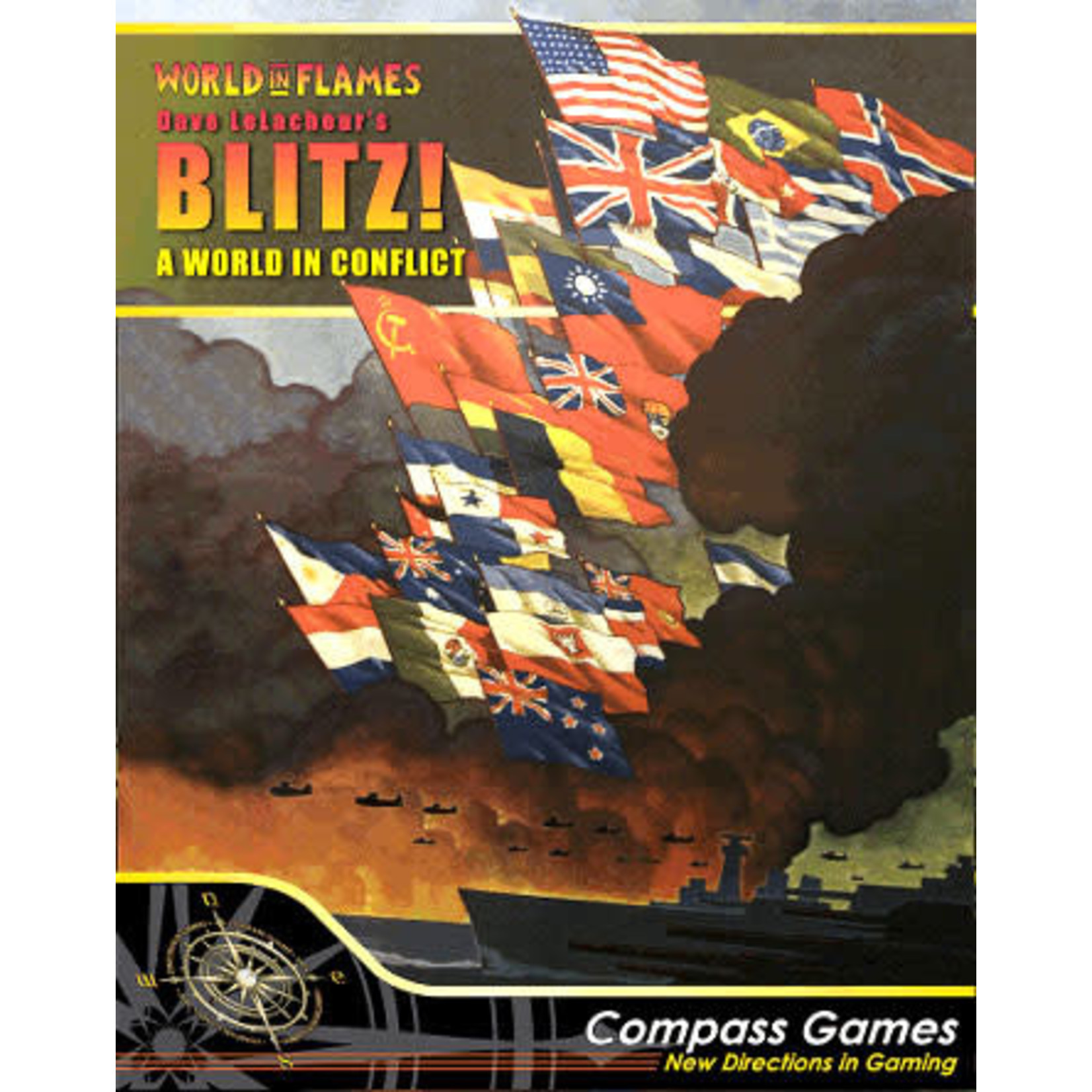 Compass Games Blitz! A World In Conflict