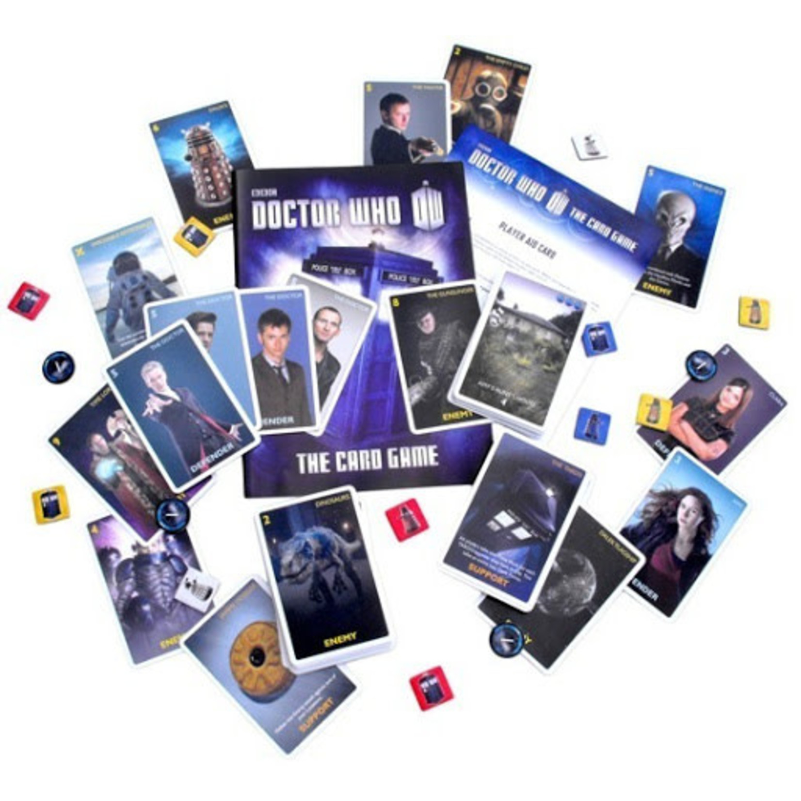 Cubicle 7 Doctor Who The Card Game