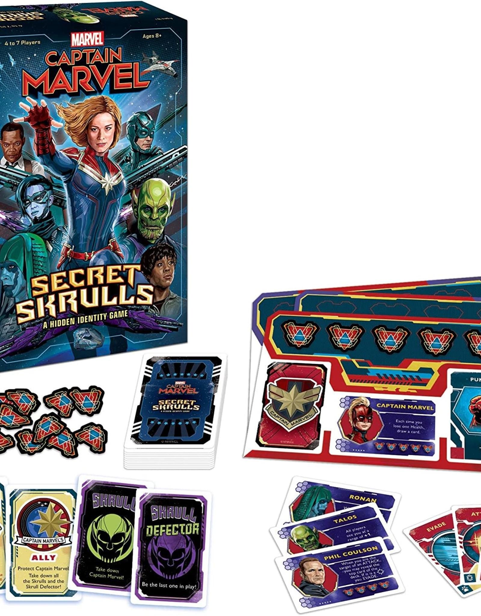The Op Captain Marvel: Secret Skrulls