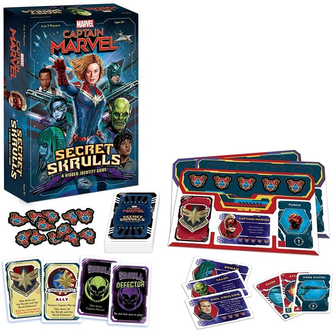 Captain Marvel: Secret Skrulls