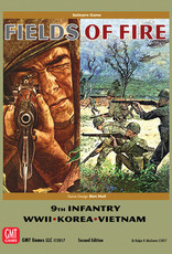 GMT Games Fields of Fire: Battles of the 9th Regiment US Infantry in WWII, Korea, and Viet Nam