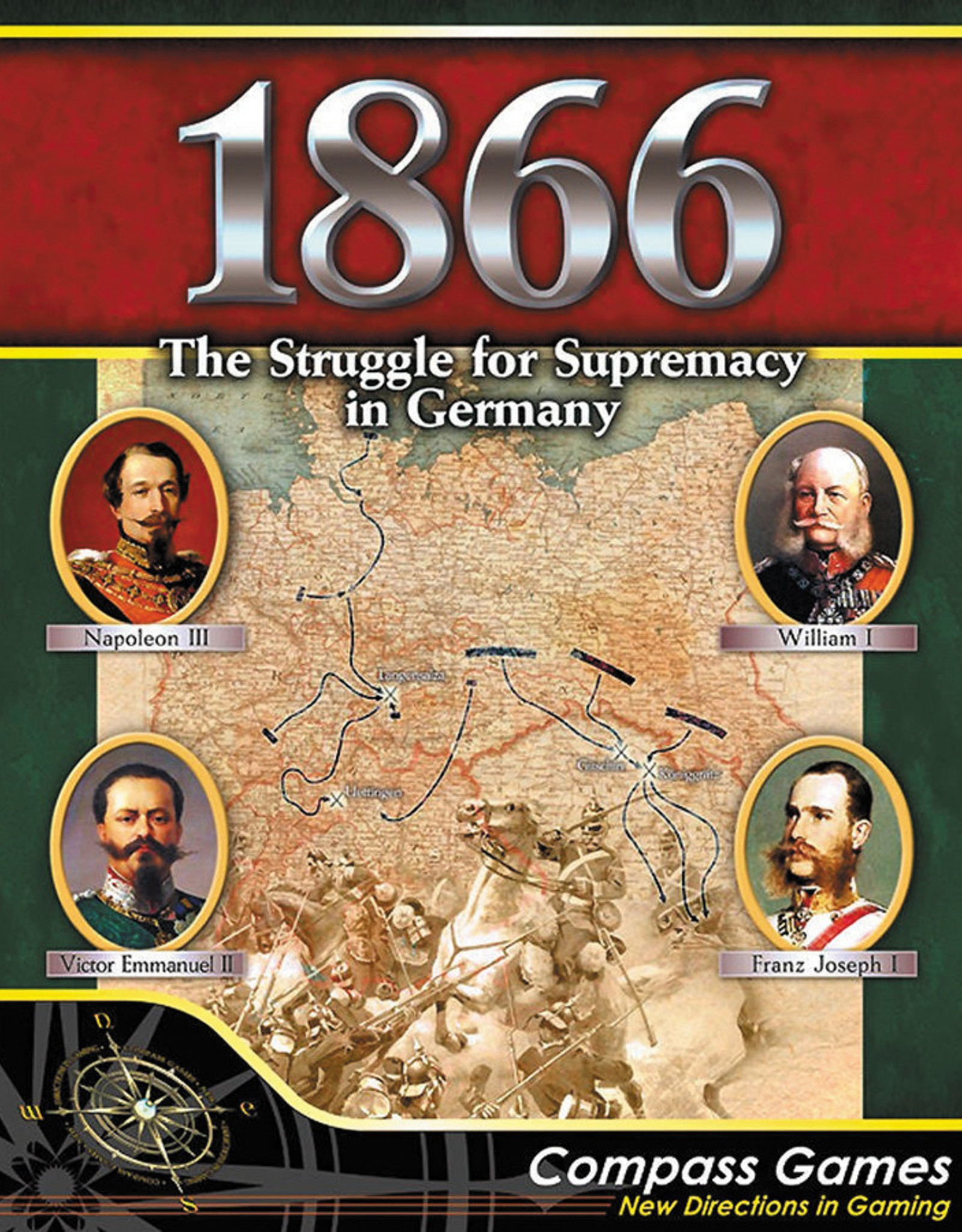 Compass Games 1866: The Struggle for Supremacy in Germany