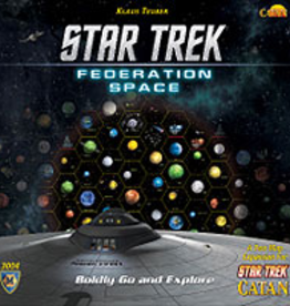 Catan Studios Inc Star Trek Catan: Federation Space Expansion