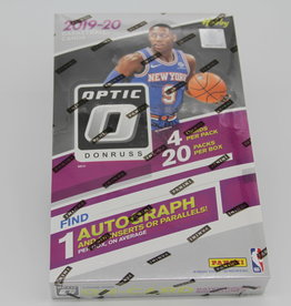Panini America 2019-20 Donruss Optic Basketball Hobby Box