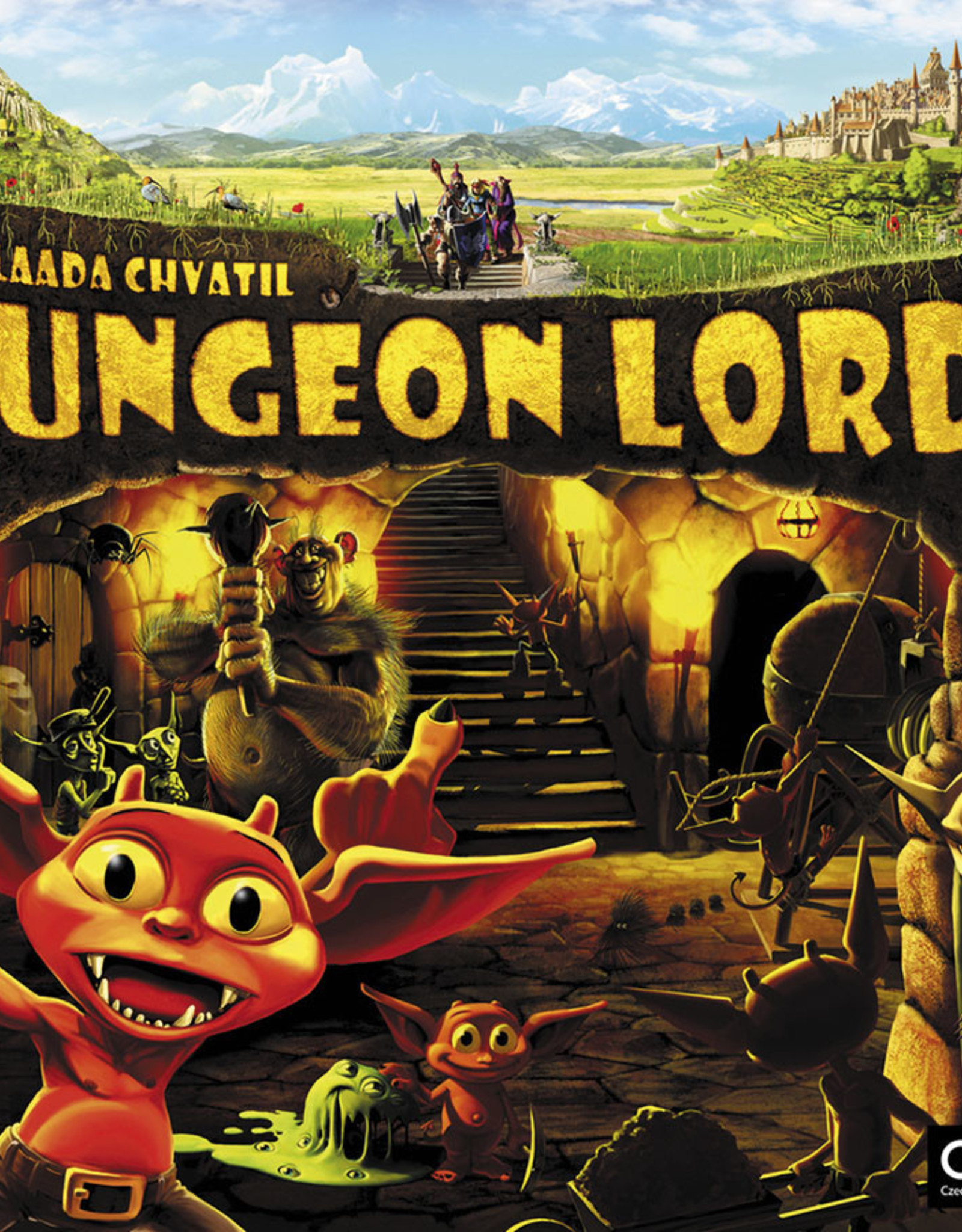Czech Games Editions Dungeon Lords