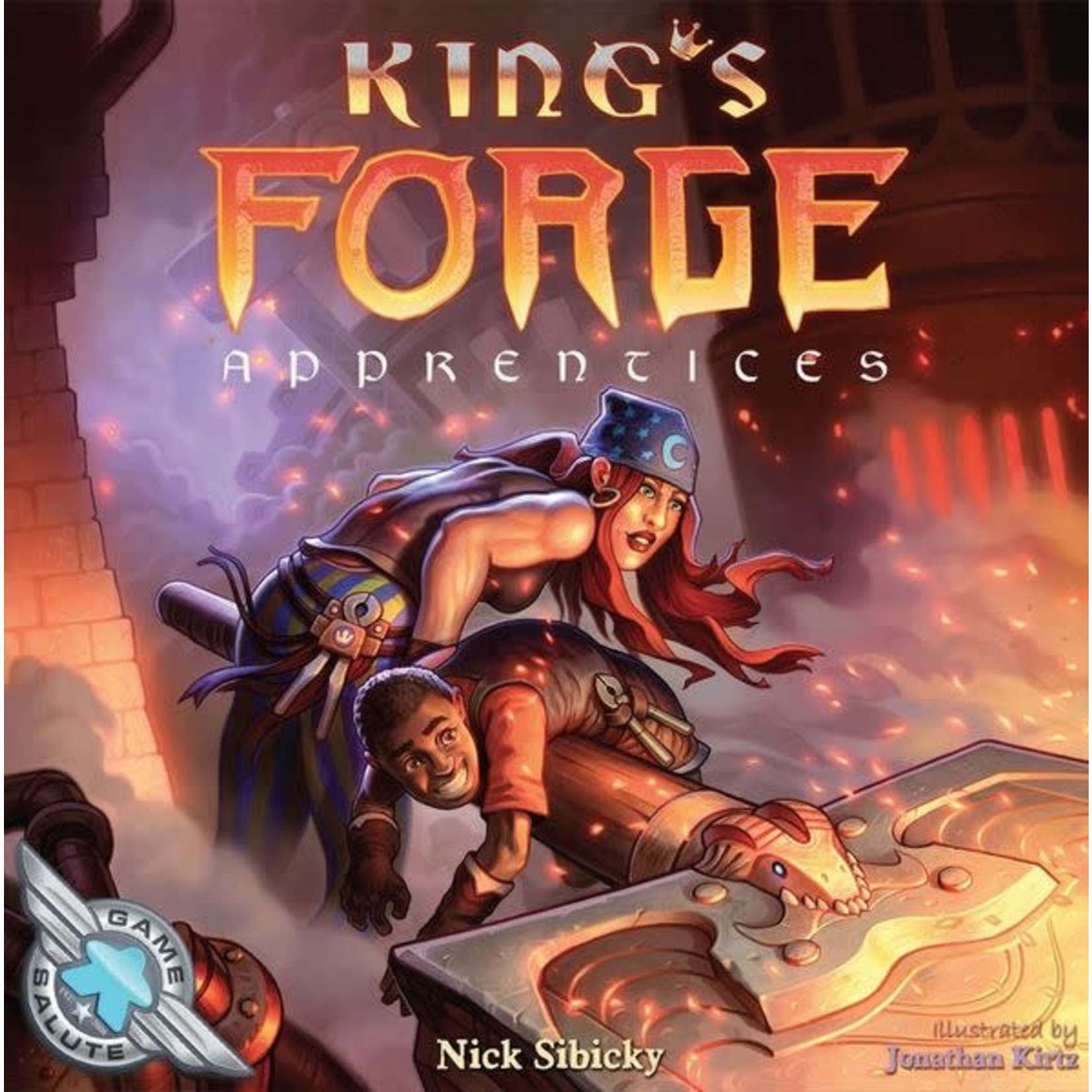 Game Salute King`s Forge: Apprentices