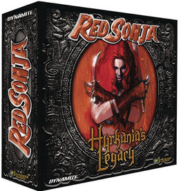 Dynamite Entertainment Red Sonja Hyrkanias Legacy Board Game