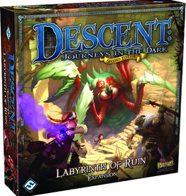 Fantasy Flight Games Descent Journeys in the Dark 2nd Edition: Labyrinth of Ruin Expansion