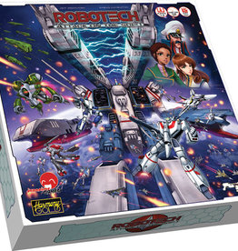 Japanime Games Robotech Attack on the SDF-1 Coop Board Game