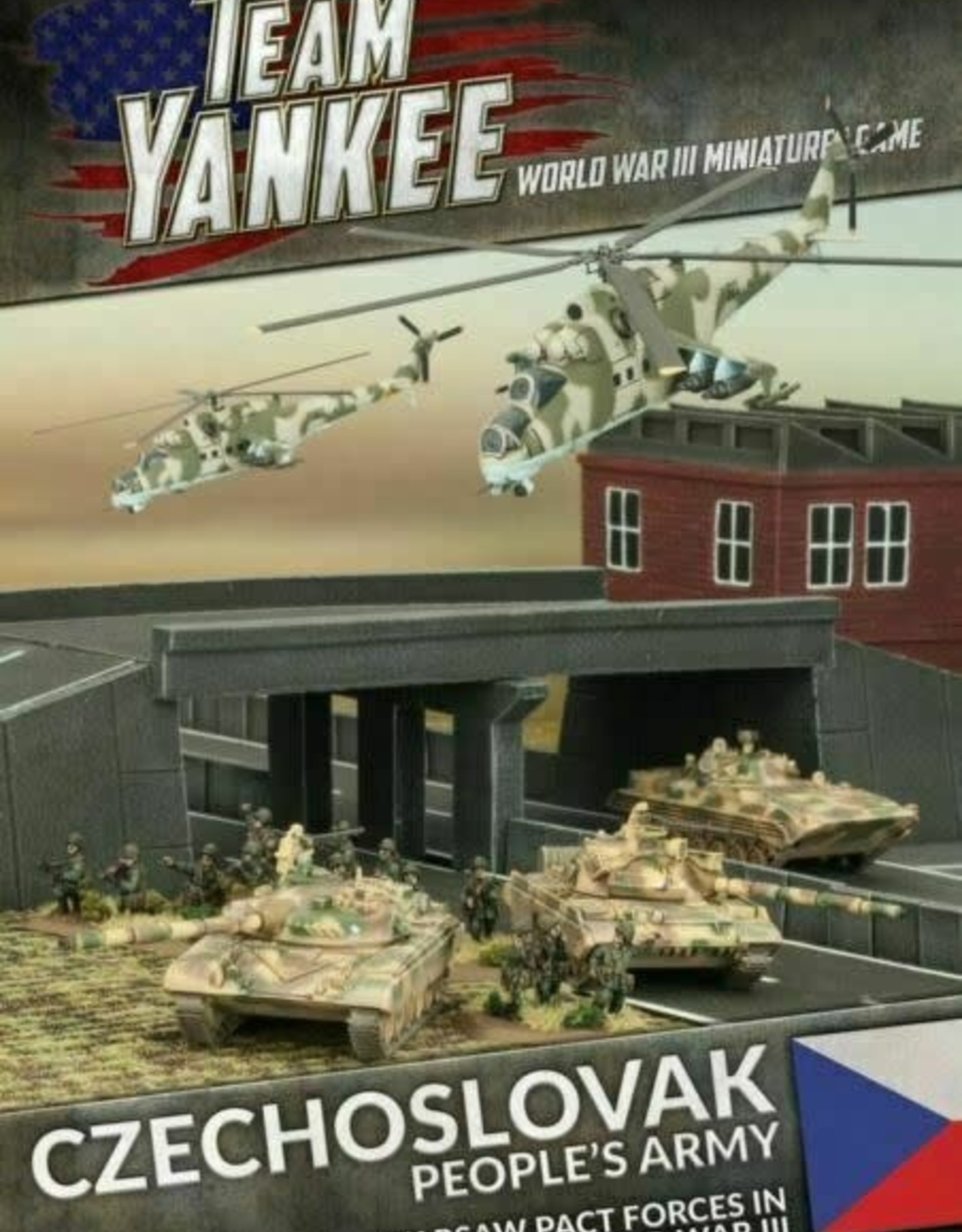 Battlefront Miniatures Ltd Team Yankee - World War III | Czechoslovak People's Army - Booklet & Cards
