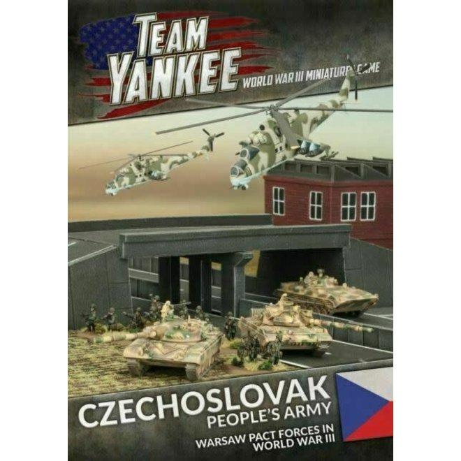 Team Yankee - World War III   Czechoslovak People's Army - Booklet & Cards