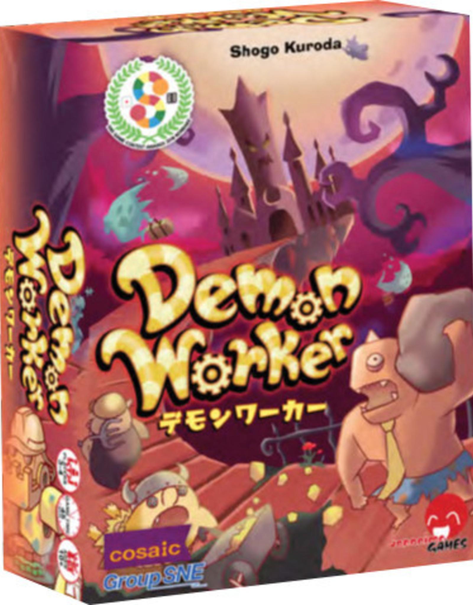 Japanime Games Demon Workers Board Game