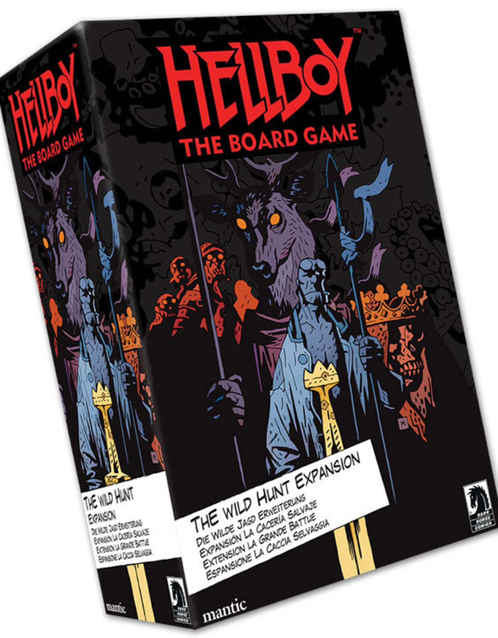 Mantic Games Hellboy: The Board Game - The Wild Hunt Expansion