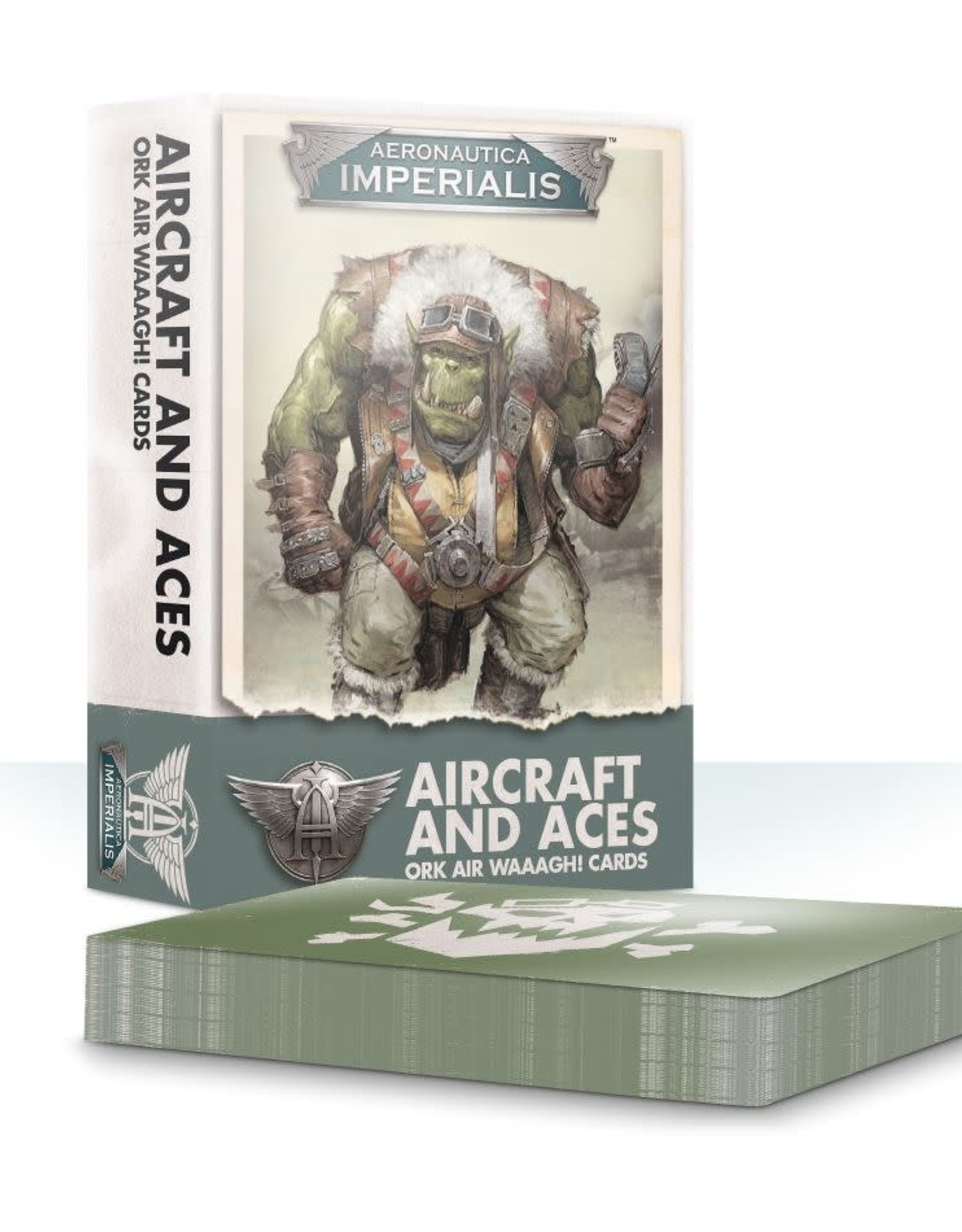 Games Workshop A/I: AIRCRAFT & ACES: ORK AIR WAAAGH! CARDS