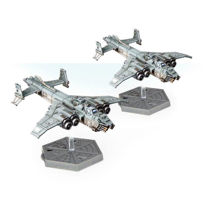 Warhammer 40,000: Aeronautica Imperialus - Imperial Navy Marauder Destroyers