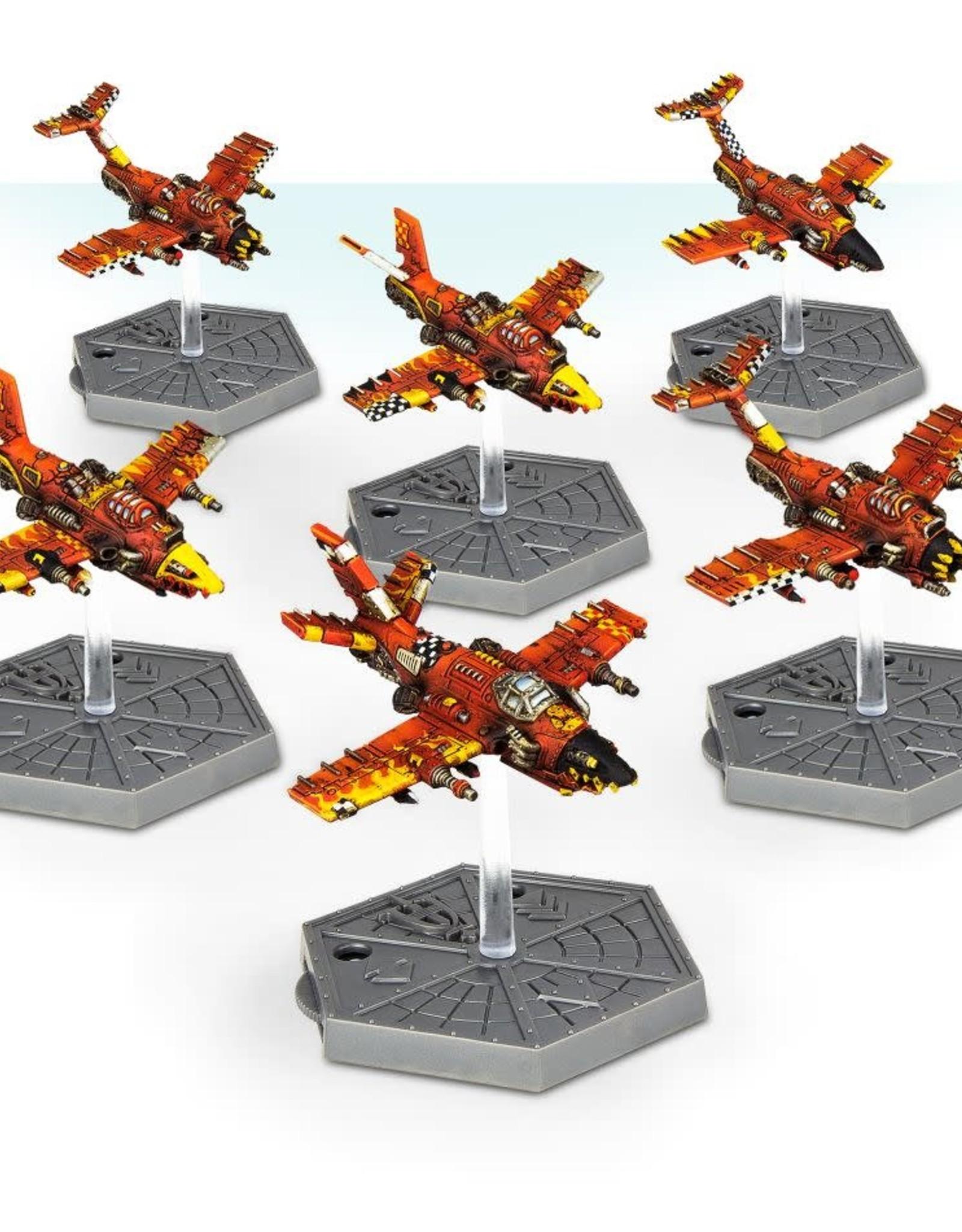 Games Workshop A/I: ORK AIR WAAAGH! DAKKAJETS