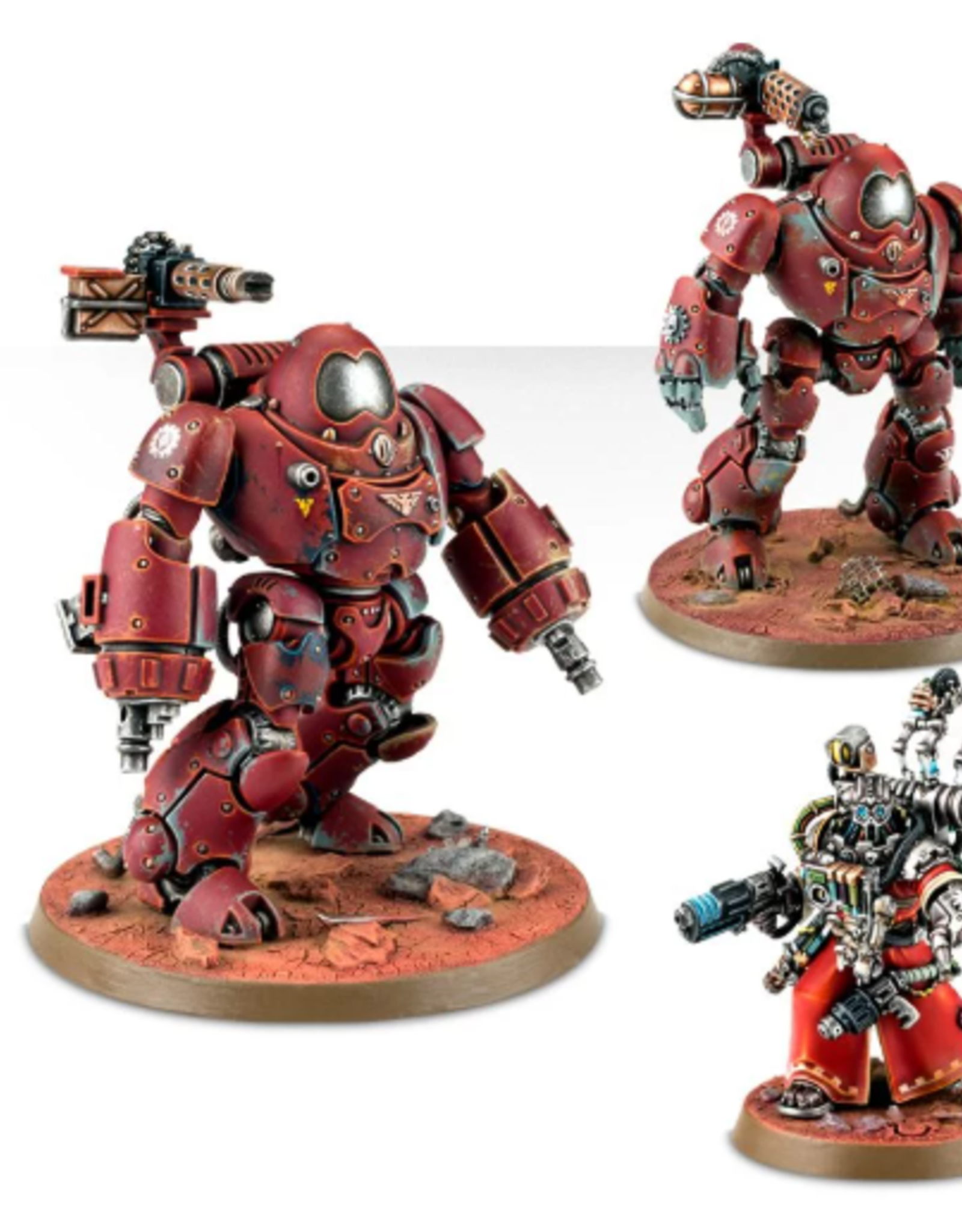 Games Workshop Adeptus Mechanicus: Kastelan Robots