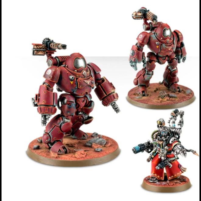 Adeptus Mechanicus: Kastelan Robots