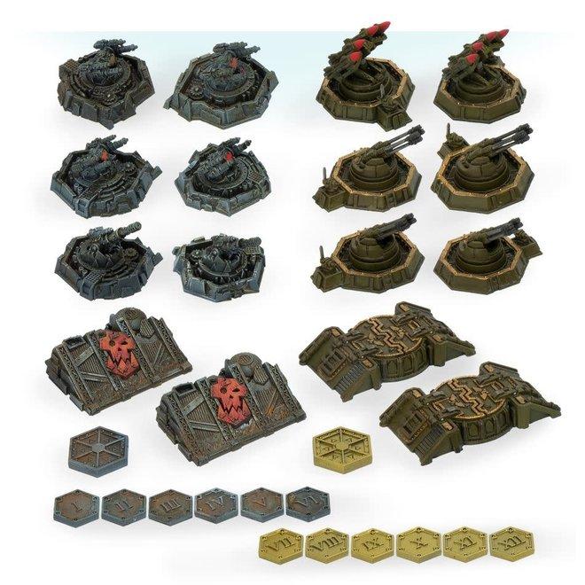 Warhammer 40,000: Aeronautica Imperialus - Imperial & Ork Ground Assets