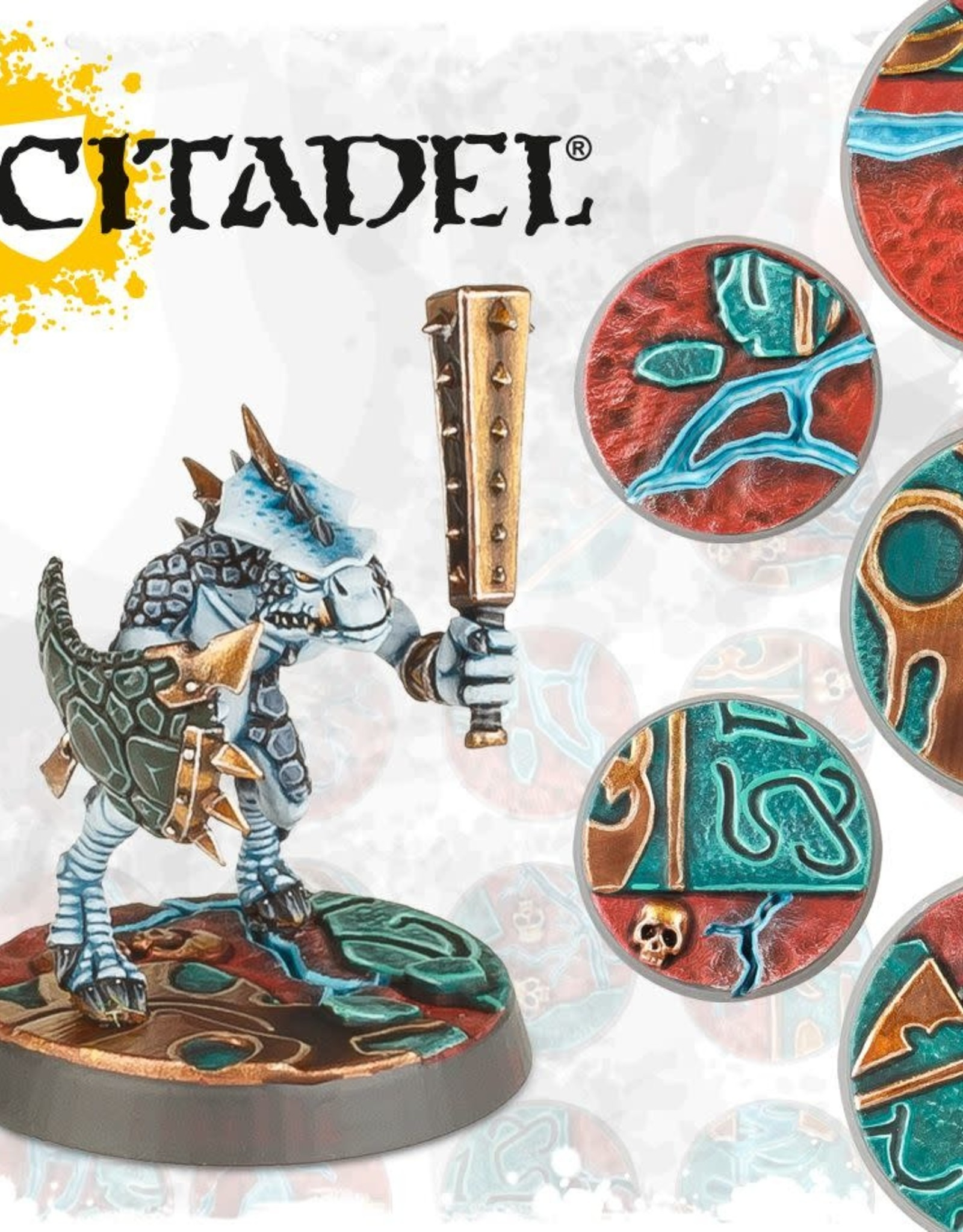 Games Workshop AOS: SHATTERED DOMINION: 25 & 32MM ROUND BASES
